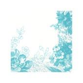 Villeroy & Boch - Floreana Blue - serwetki papierowe - wymiary: 33 x 33 cm