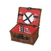 Cilio - Bellagio - kosz piknikowy z wyposażeniem dla 2 osób - wymiary: 37 x 28 x 18 cm