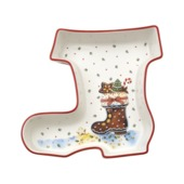 Villeroy & Boch - Winter Bakery Delight - miska but - wymiary: 19,5 x 19,5 cm