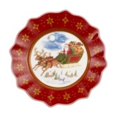 Villeroy & Boch - Annual Christmas Edition 2018 - talerz sałatkowy - średnica: 24 cm
