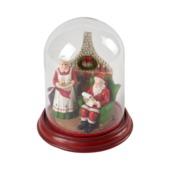 Villeroy & Boch - Christmas Toys 2018 - dekoracyjna kopuła - dom Świętego Mikołaja - wysokość: 20 cm