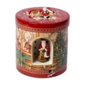Villeroy & Boch - Christmas Toys - pudełko-lampion z pozytywką - wysokość: 21 cm