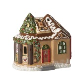 Villeroy & Boch - North Pole Express - lampion - piernikowa chatka - wymiary: 16 x 12 x 16 cm