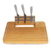 Boska - Party - deska do sera z trzema nożami - wymiary: 34 x 25 cm