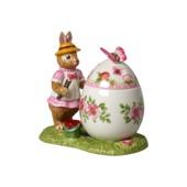 Villeroy & Boch - Bunny Tales - pudełko-pisanka - zajączek Anna - wymiary: 11 x 7 x 10,5 cm