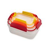 Joseph Joseph - Nest Lock - zestaw 3 pojemników na żywność - pojemności: 0,23 l; 0,54 l; 1,1 l