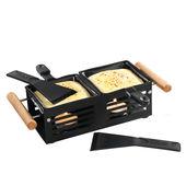 Cilio - mini zestaw do raclette - wymiary: 24 x 10,5 x 8 cm