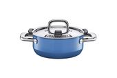 Silit - Nature Blue - garnki stalowo-ceramiczne