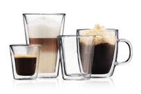 szklanki do kawy i herbaty