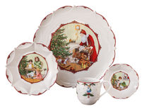 Villeroy & Boch - Toy's Fantasy - pięknie zdobione naczynia bożonarodzeniowe