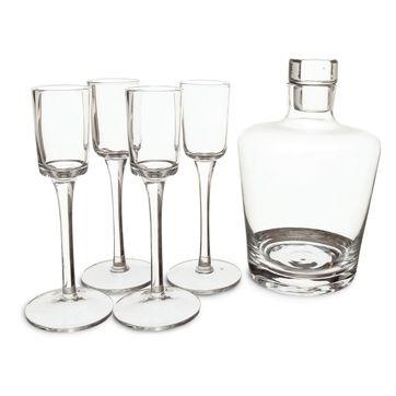 Sagaform - Bar - karafka i 4 kieliszki do wódki