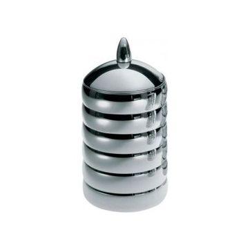Alessi - Kalistò 2 - pojemnik - wysokość: 21 cm; średnica: 11 cm