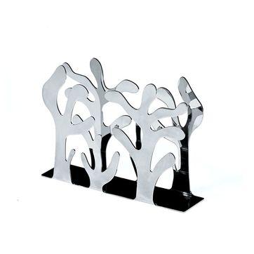 Alessi - Mediterraneo - serwetnik - wymiary: 8,5 x 12 cm