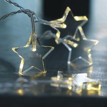 Sirius - Dea - lampki gwiazdki - 20 energooszczędnych światełek LED