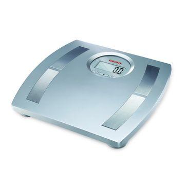 Soehnle - Body Balance Shape F4 - elektroniczna waga łazienkowa - pomiar poziomu tłuszczu, wody, masy mięśniowej