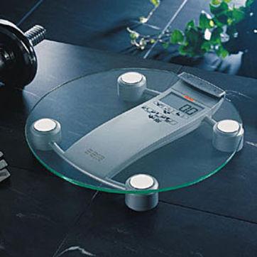 Soehnle - Body Balance Rio - elektroniczna waga łazienkowa - pomiar poziomu tłuszczu, wody i masy mięśniowej