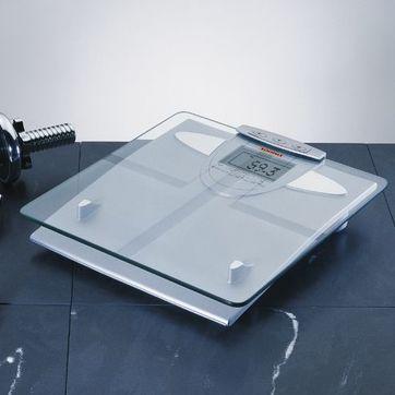 Soehnle - Body Balance New York - elektroniczna waga łazienkowa - pokazuje wykresy zmian ciężaru, poziomu tłuszczu, wody i masy mięśniowej