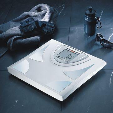 Soehnle - Body Balance Milano - elektroniczna waga łazienkowa - pokazuje wykresy zmian ciężaru, poziomu tłuszczu, wody i masy mięśniowej