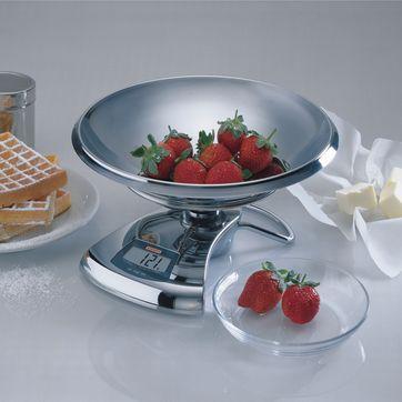 Soehnle - Giga II - elektroniczna waga kuchenna - nośność: 5 kg; podziałka: 1 g