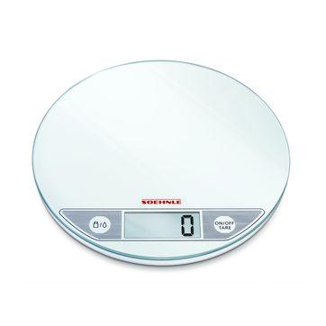 Soehnle - Flip - waga kuchenna biała - nośność: 5 kg; podziałka: 1 g