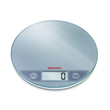 Soehnle - Flip - waga kuchenna srebrna - nośność: 5 kg; podziałka: 1 g