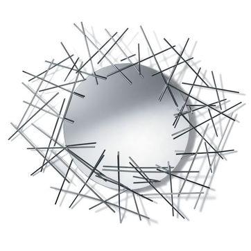 Alessi - Blow up - lustro - wymiary: 86,5 x 74,5 cm
