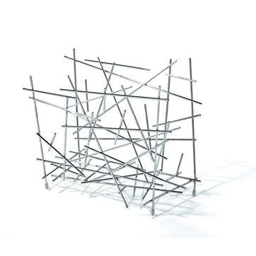 Alessi - Blow up - gazetnik - wysokość: 35 cm