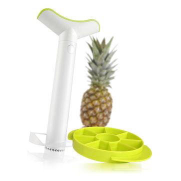 Tomorrow's Kitchen - nóż do ananasa - w zestawie z krajaczem