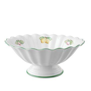 Villeroy & Boch - French Garden Fleurence - miska na sałatę na nóżce - średnica: 31 cm