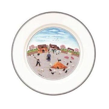 Villeroy & Boch - Design Naif - talerz sałatkowy Zagroda - średnica: 21 cm