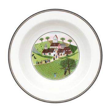 Villeroy & Boch - Design Naif - talerz sałatkowy głęboki Ślub - średnica: 20 cm
