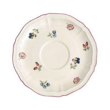 Villeroy & Boch - Petite Fleur - spodek do bulionówki - średnica: 17 cm