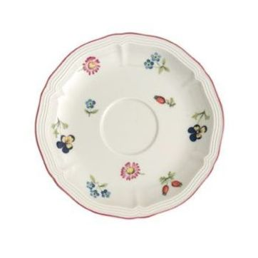 Villeroy & Boch - Petite Fleur - spodek do filiżanki do kawy lub herbaty - średnica: 15 cm