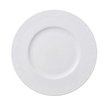 Villeroy & Boch - White Pearl - talerz B&B - średnica: 18cm