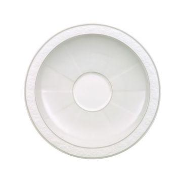 Villeroy & Boch - Gray Pearl - spodek do filiżanki do kawy lub herbaty - średnica: 16 cm