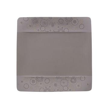 Villeroy & Boch - Modern Grace Grey - talerz sałatkowy - wymiary: 23 x 23 cm