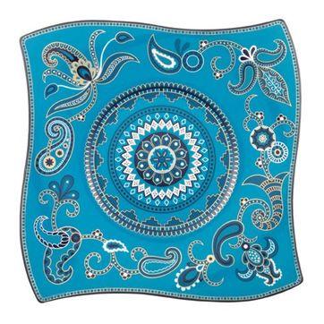 Villeroy & Boch - Samarah Turquoise - talerz bufetowy - wymiary: 35 x 35 cm