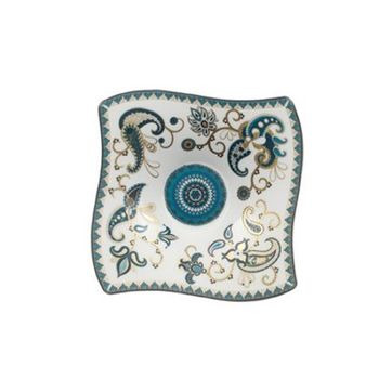 Villeroy & Boch - Samarah Turquoise - miseczka na dipy - wymiary: 14 x 14 cm