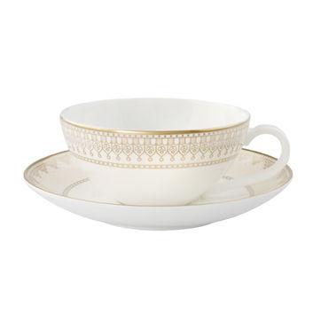 Villeroy & Boch - Samarkand - filiżanka do herbaty ze spodkiem - pojemność: 0,2 l