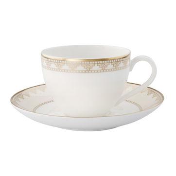 Villeroy & Boch - Samarkand - filiżanka do kawy ze spodkiem - pojemność: 0,2 l