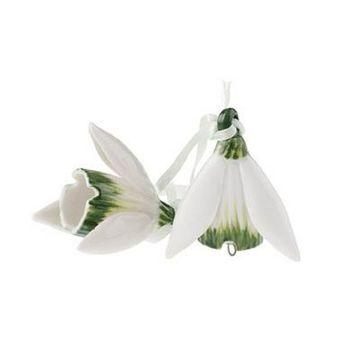 Villeroy & Boch - Flower Bells - 2 zawieszki - przebiśniegi