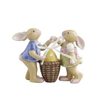 Villeroy & Boch - Bunny Family - dzieci zajączki - wysokość: 9 cm