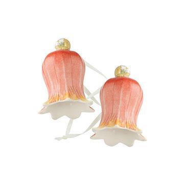 Villeroy & Boch - Mini Flower Bells - 2 małe zawieszki - tulipany