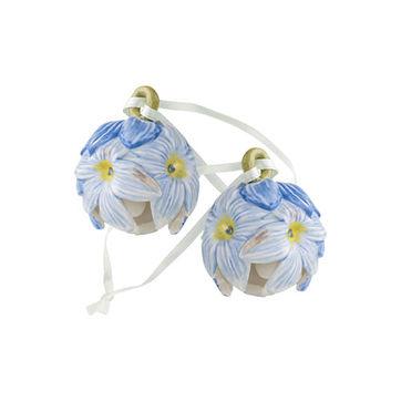 Villeroy & Boch - Mini Flower Bells - 2 małe zawieszki - hiacynty