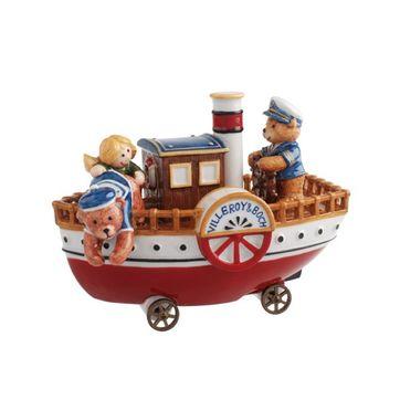 Villeroy & Boch - Christmas Teddies - statek z misiami