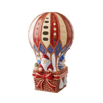 Villeroy & Boch - Christmas Teddies - lampion - balon z Mikołajem i misiami
