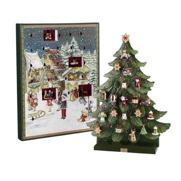 Villeroy & Boch - Nostalgic Ornaments - kalendarz adwentowy - 25 elementów
