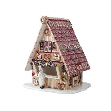 Villeroy & Boch - Christmas Market - świecznik domek z piernika