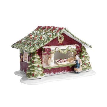 Villeroy & Boch - Christmas Market - świecznik domek z dekoracjami