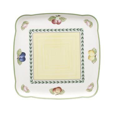 Villeroy & Boch - French Garden Charm & Breakfast - kwadratowy półmisek - wymiary: 30 x 30 cm